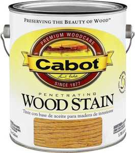 Cabot 8124 Interior Penetrating Wood Stain Flat Cherry