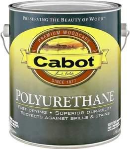 Cabot 8017 Gallon Interior Semi-Gloss Oil-Based Polyurethane