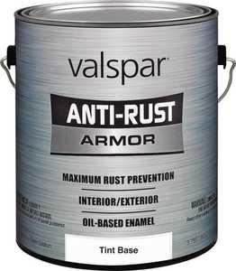 Valspar 21811 Armor Anti-Rust Oil Based Enamel Paint Gloss Tint Base 1 Gal