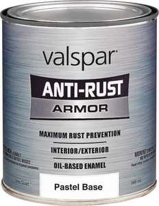 Valspar 044.0021805.005 Rust Preventive Enamel Paint Pastel Base 1 Gal