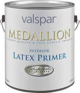 Valspar 190 Medallion Interior Latex Primer White 1 Gal