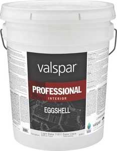 Valspar 11811 Professional Interior Latex Paint Eggshell Light Base 5 Gal