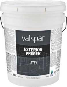 Valspar 11298 Exterior Latex Primer White 5 Gal