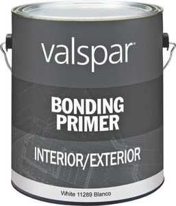 Valspar 11289 Bonding Primer Latex White 1 Gal
