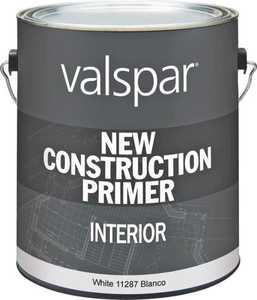 Valspar 11287 New Construction Interior Primer White 1 Gal