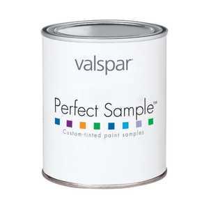 Valspar 3405 Perfect Sample Latex Paint, Clear Base