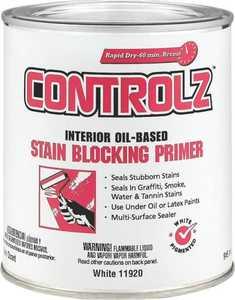 Valspar 11920 Controlz Interior Stain Blocking Primer White 1 Qt