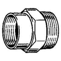 Plumb Pak 3362209 3/4-Inch X 1/2-Inch Brass Hose Adapter