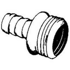 Plumb Pak PP55-7W 1-1/2 45° Coupling Elbow