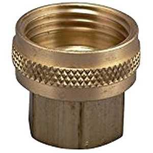 Plumb Pak PP850-65 3/4-Inch X 1/2-Inch Brass Female Swivel Hose Adapter