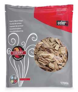Weber Grill 17006 FireSpice Cherry Wood Chips 3-Lb Bag