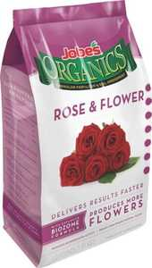 Easy Gardener 09426 Jobe's Organic Rose & Flower Fertilizer Granular 4 Lbs