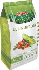 Easy Gardener 09526 Jobe's Organic All Purpose Plant Food 4 Lbs