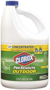 Clorox Co. 30791 Concentrated Pro Results Outdoor Bleach 120 Oz