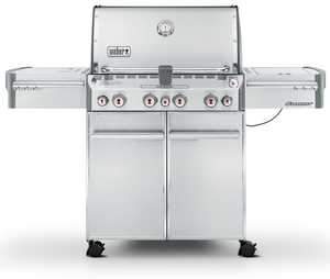 Weber Grill 7170001 Weber Summit S-470 Stainless Steel Lp Gas Grill