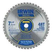 Irwin 4935555 7-1/4 Steel Blade 48t