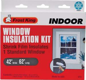 Thermwell Products V73H 42-Inch X 62-Inch X 18-Foot Window Kit