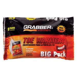 Grabber TWES8 Toe Warmer 8-Pack