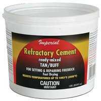 Imperial KK0308 Refractory Cement Buff 128 oz