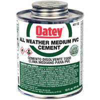 Oatey 31132 16 oz Lovoc All Weather Cement