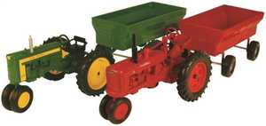 Tomy International 37173 1:16 Tractor With Wagon