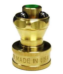 K-Co Products LLC LBSR-120 Little Big Shot Brass Hose-End Nozzle