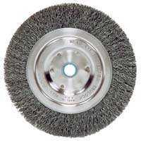 Weiler Corporation 36064 5 in Crimp Wheel Brush 5/8-1/2