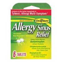 Lil Drug Store 20-366715-97273-0 Lil Drug Allergy/Sinus Tablets