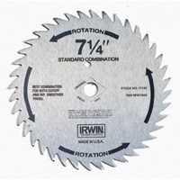 Irwin 11140 7-1/4 40tht Std Combo Blade