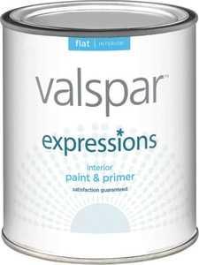 Valspar 17003 Expressions Latex Paint Flat Tint Base 1 Qt