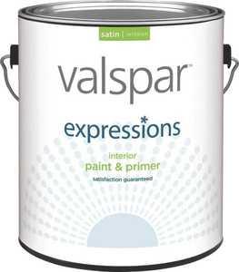Valspar 17044 Expressions Latex Paint, Clear Base