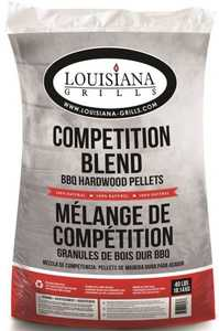 Louisiana Grills 55405 40-Pound Competition Blend BBQ Hardwood Pellets
