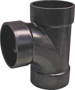 Genova 81130 ABS Sanitary Pipe Tee 3 In