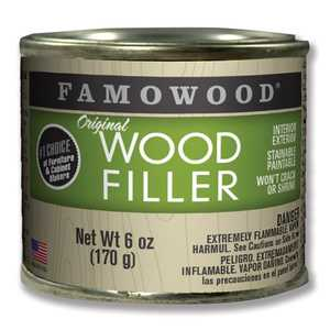 Eclectic Products 36141100 Famowood Original Wood Filler Alder 6 Oz
