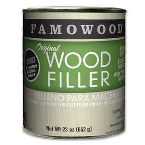 Eclectic Products 36021326 Famowood Original Wood Filler Natural 23 Oz