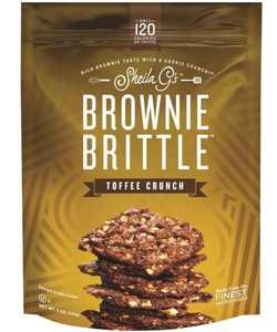 Brownie Brittle 0173872 Brownie Brittle Toffee Crunch