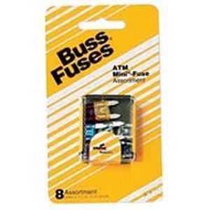 Bussmann Fuses 6196638 Automotive Fast Acting Mini-Blade Fuse Kit