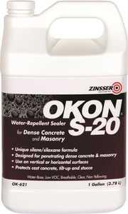 Rust-Oleum OK621 Okon Penetrating Silane Silozane Clear Water-Repellent Sealer 1 Gal