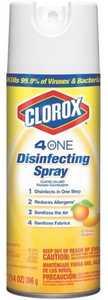Clorox Co. 31132 4-In-1 Disinfecting Spray Citrus Scent 14 Oz