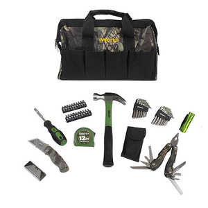 Olympia Tools 81-917 51-Piece Camouflage Tool Bag Set