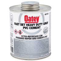 Oatey 31122 32 oz Lovoc Pvc Gray Fs Cement