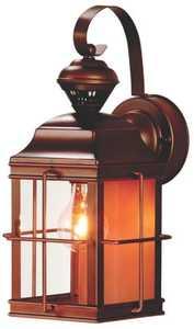 Heath HZ-4144-AZ Dualbrite Porch Motion Activated Light Fixture Antique Bronze