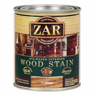 United Gilsonite Laboratories 11112 Zar Oil Based Wood Stain Walnut, Quart