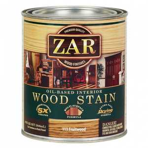 United Gilsonite Laboratories 11344 Zar Oil Based Wood Stain Fruitwood, Quart