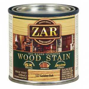 United Gilsonite Laboratories 12706 Zar Oil Based Wood Stain Golden Oak, 1/2 Pt