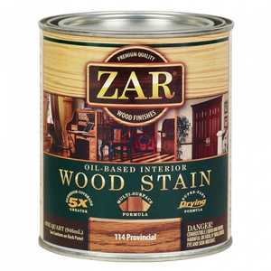United Gilsonite Laboratories 11412 Zar Oil Based Wood Stain Provincial, Quart
