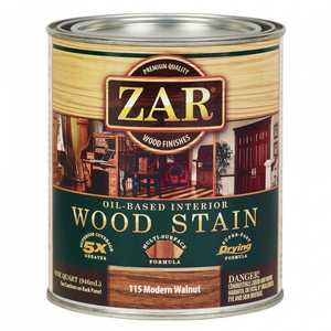 United Gilsonite Laboratories 11512 Zar Oil Based Wood Stain Modern Walnut, Quart