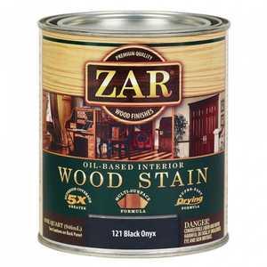 United Gilsonite Laboratories 12112 Zar Oil Based Wood Stain Black Onyx, Quart
