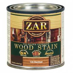 United Gilsonite Laboratories 12612 Zar Oil Based Wood Stain Chestnut, Quart