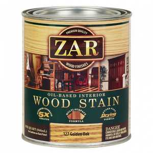 United Gilsonite Laboratories 12712 Zar Oil Based Wood Stain Golden Oak, Quart